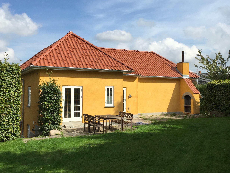 Tagrenovering i Lyngby